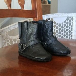 Frye harness baby boots